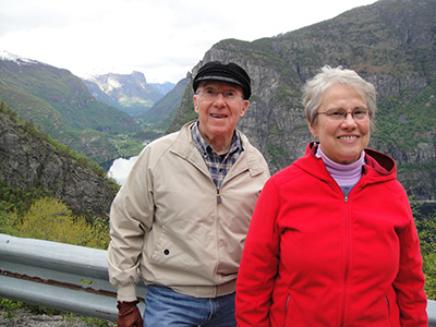 John and Jan in Norway